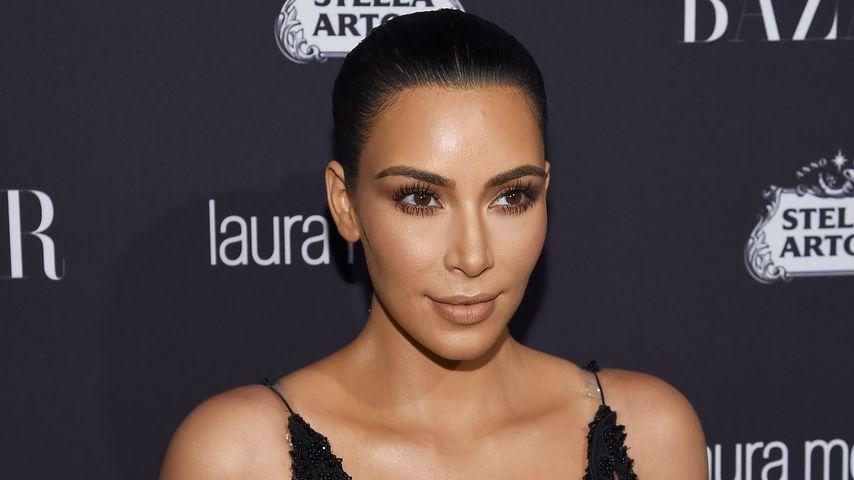 """Kim Kardashian auf einem """"Harper's Bazaar""""-Event in New York"""