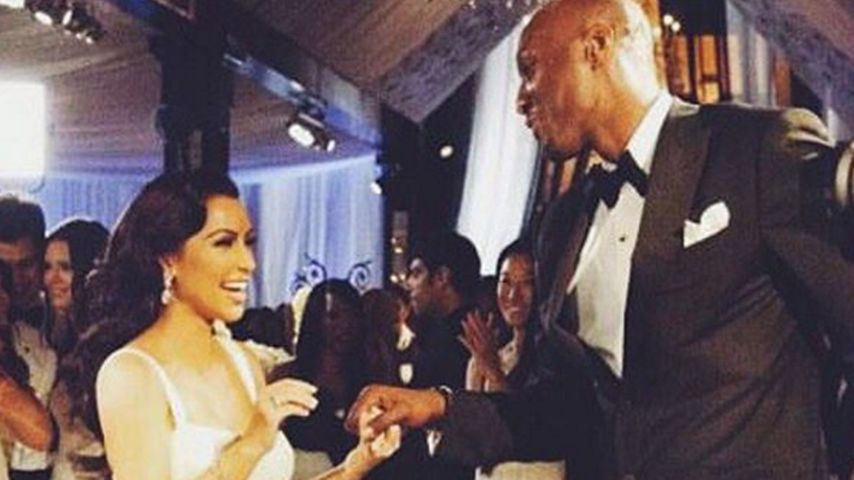 Nach Lamars Todeskampf: Kim Kardashian bringt ihn zum Lachen