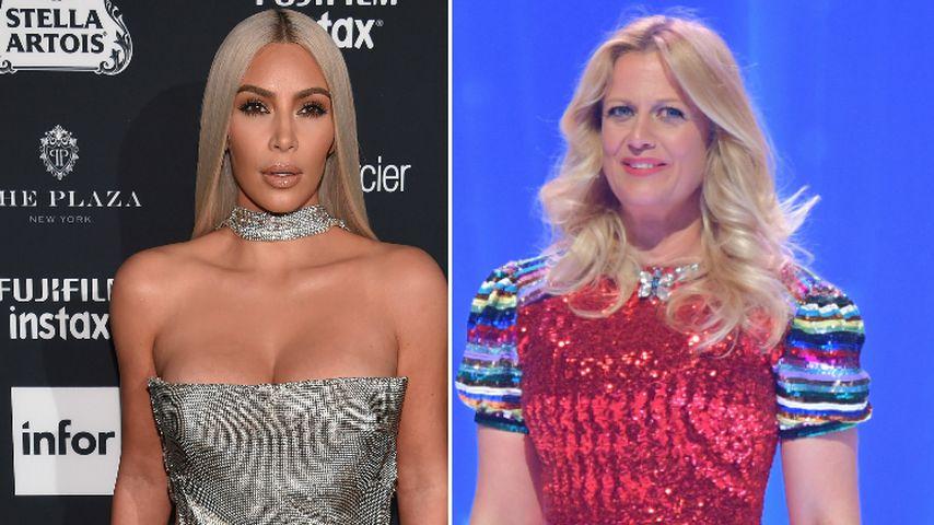 À la Kim Kardashian: Barbara Schöneberger mit XS-Taille!