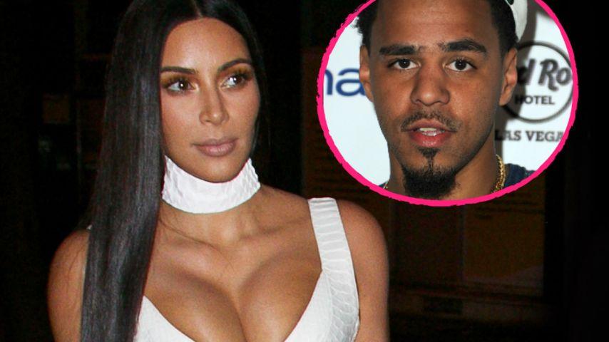 Raub bloß ein PR-Fake? J. Cole hetzt gegen Kim Kardashian
