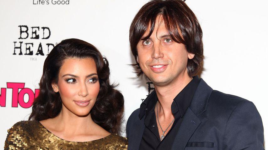 Kim Kardashian und Jonathan Cheban im September 2009