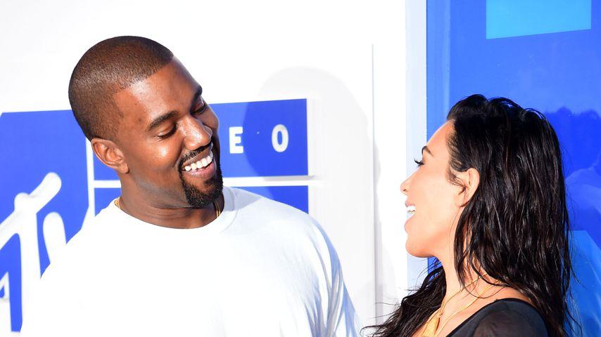 Von wegen Trennung: Kim und Kanye feiern 3. Hochzeitstag!