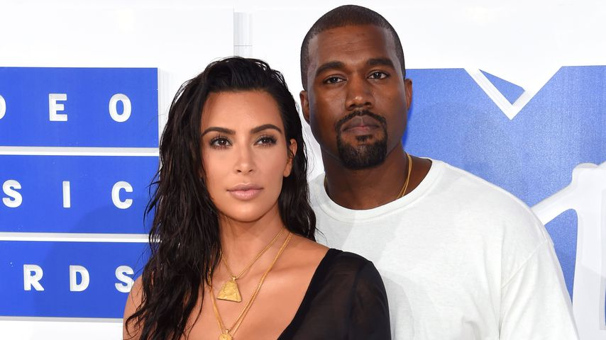 Kim Kardashian und Kanye West bei den MTV Movie Awards 2016