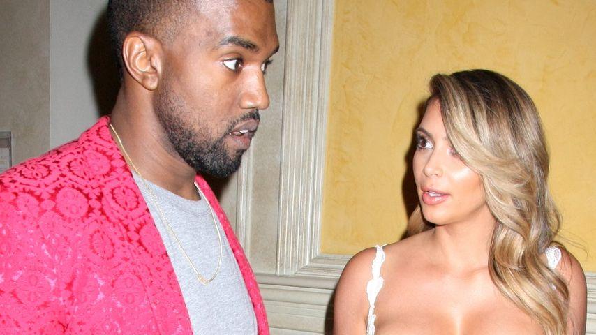 Profitgier? Kim & Kanye verkaufen Hochzeitsvideo