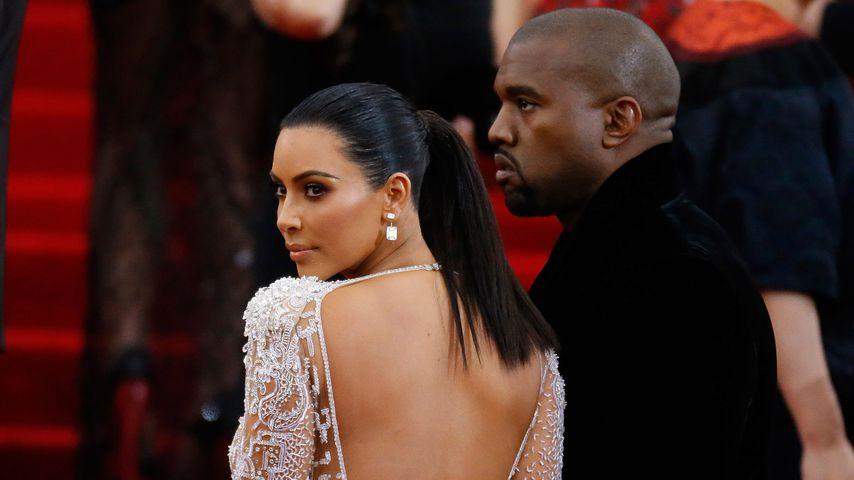 Kim Kardashian und Kanye West bei der Met-Gala 2015