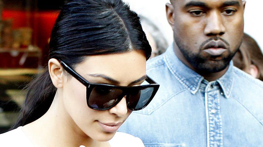 Doch kein 2. Baby für Kim Kardashian & Kanye West?