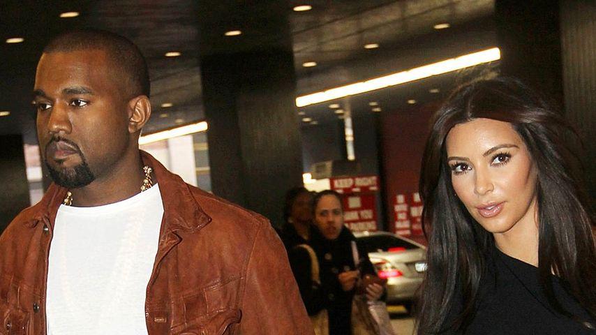 Kim & Kanye zeigen sich ganz offiziell als Paar!