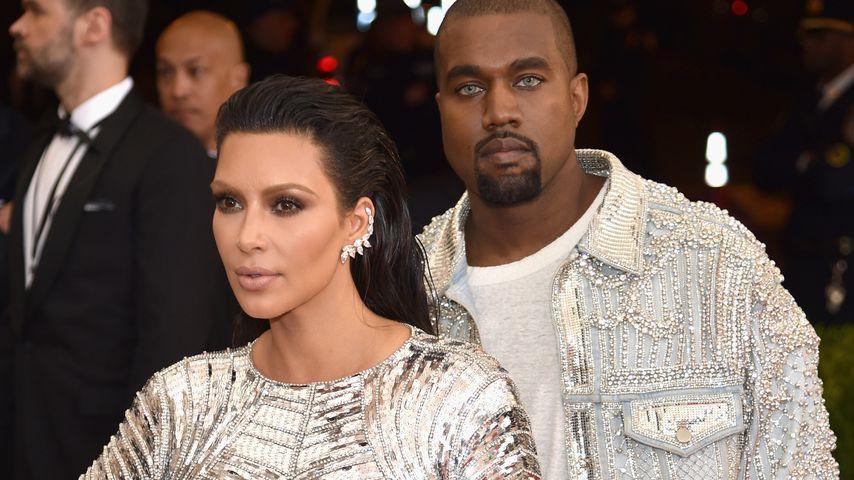 Wegen Kanye-Drama? Kim Kardashian hat schlaflose Nacht