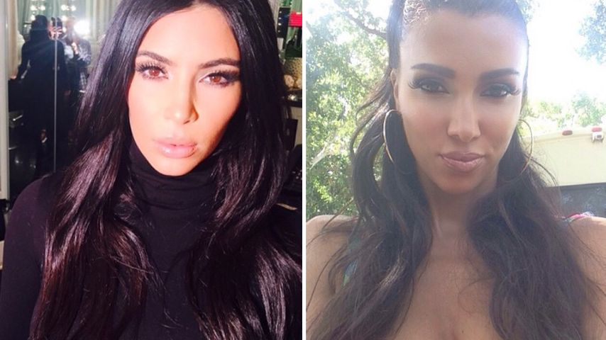Unfassbar! Das ist Kim Kardashians deutsche Doppelgängerin