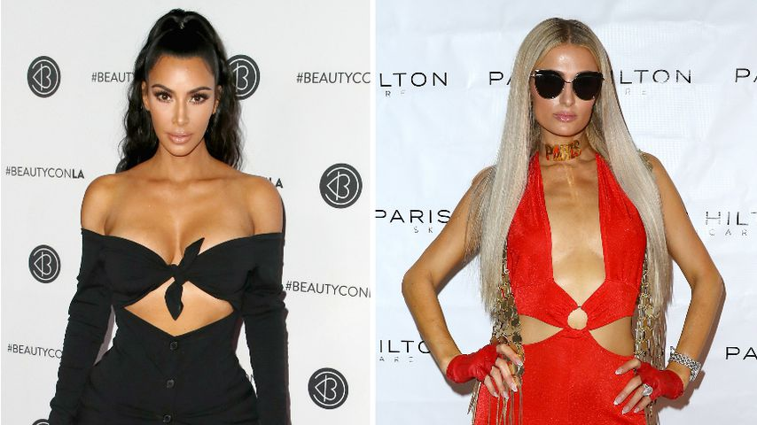 Im Kardashian-Look: Überzeugt Paris Hilton als Lady in Red?