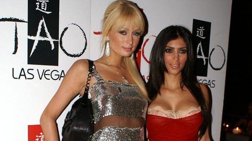 Kim Kardashian und Paris Hilton