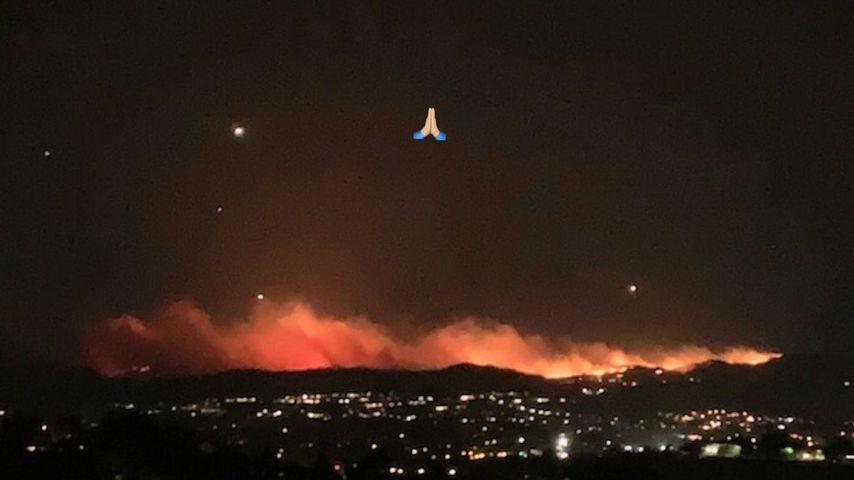 Kim Kardashians Aufnahme von den Bränden in Kalifornien im November 2018