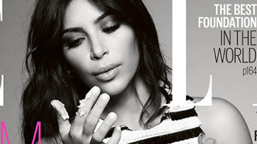Alte Figur zurück! Kim Kardashian sexy im Slip