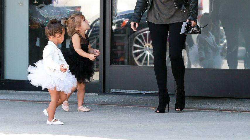 Kim Kardashian, North West und Penelope Disick