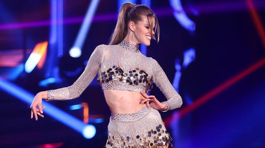 "Kim Riekenberg bei ""Let's Dance"""