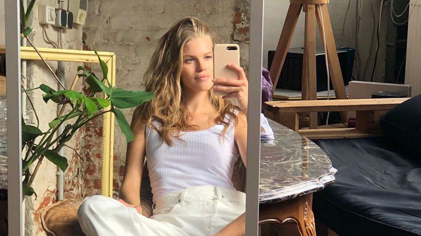 Tritt Dieses Deutsche Model Etwa In Heidi Klums Fu U00dfstapfen