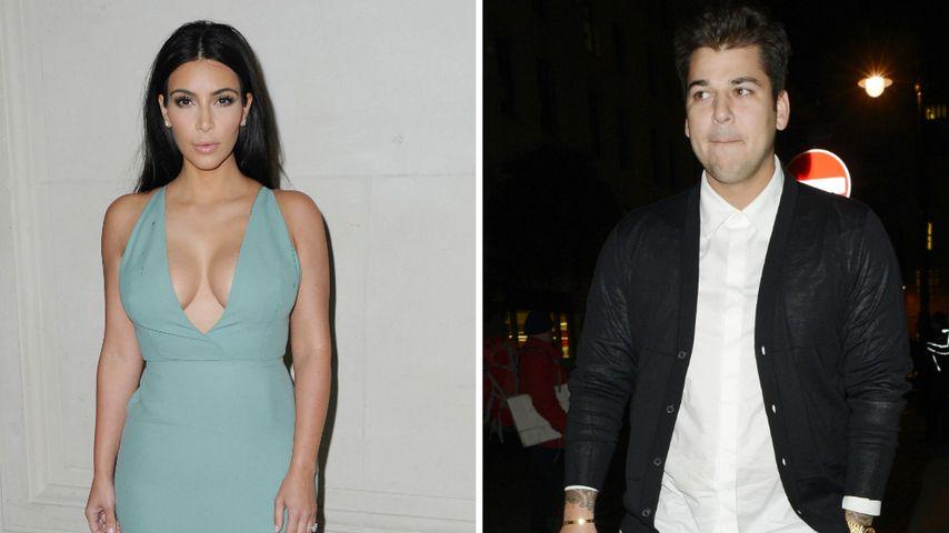"Rob Kardashian: ""Kim ist eine Psychopathin!"""