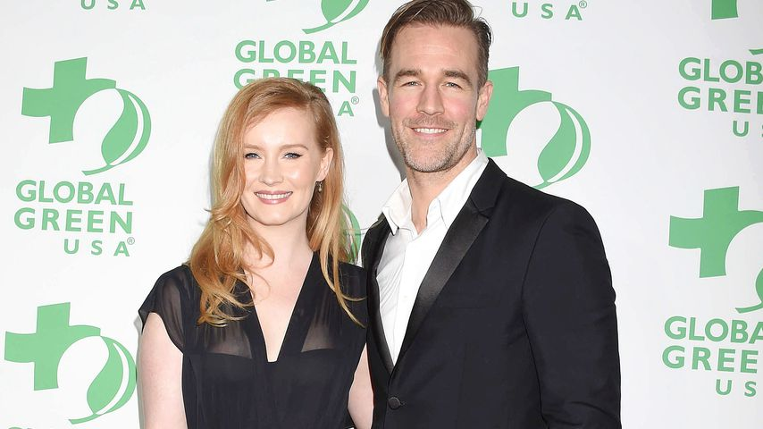 Kimberly und James Van der Beek bei der Global Green Pre-Oscar Gala 2017