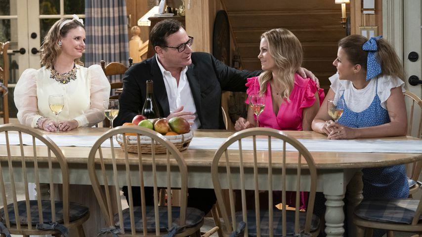 "Kimmy, Danny, D.J. und Stephanie bei ""Fuller House"" Staffel fünf"