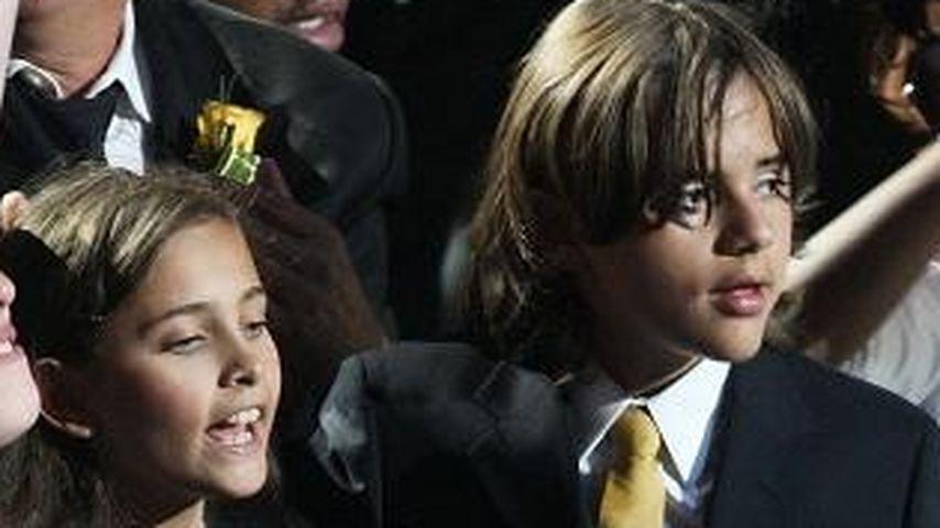 Paris Jackson mit ihren Brüdern Prince Michael und Blanket