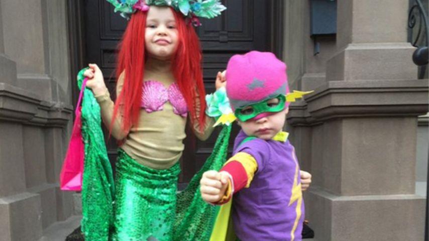 Süß! Kunterbuntes Halloween bei Neil Patrick Harris' Kids