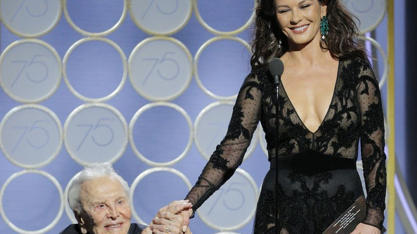 Kirk Douglas und Catherine Zeta-Jones