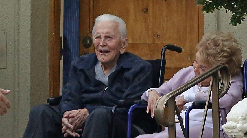 Kirk Douglas und Anne Buydens, 2018