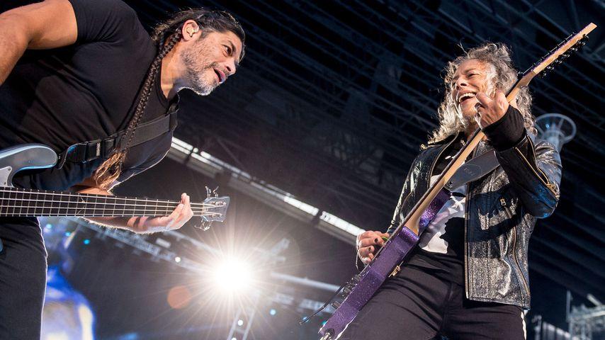 Rocker-Film! Metallica kommen auf die Leinwand