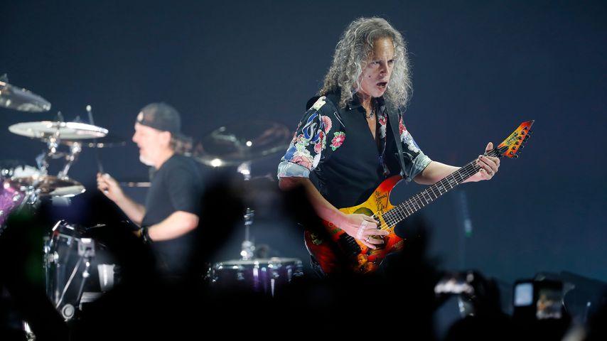 Kirk Hammett, Gitarrist von Metallica