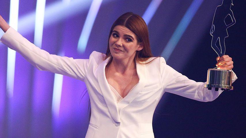 """Klaudia Giez beim Finale von """"Germany's Next Topmodel"""""""