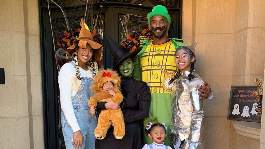 Kobe Bryant und Familie, November 2019