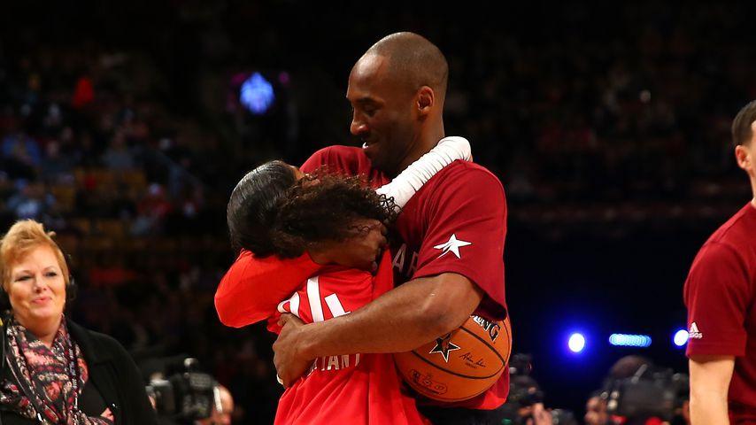Vollblut-Vater: Kobe Bryant coachte Giannas Basketball-Team!