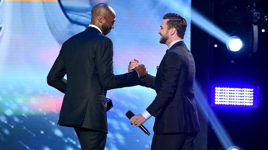 Kobe Bryant und Justin Timberlake