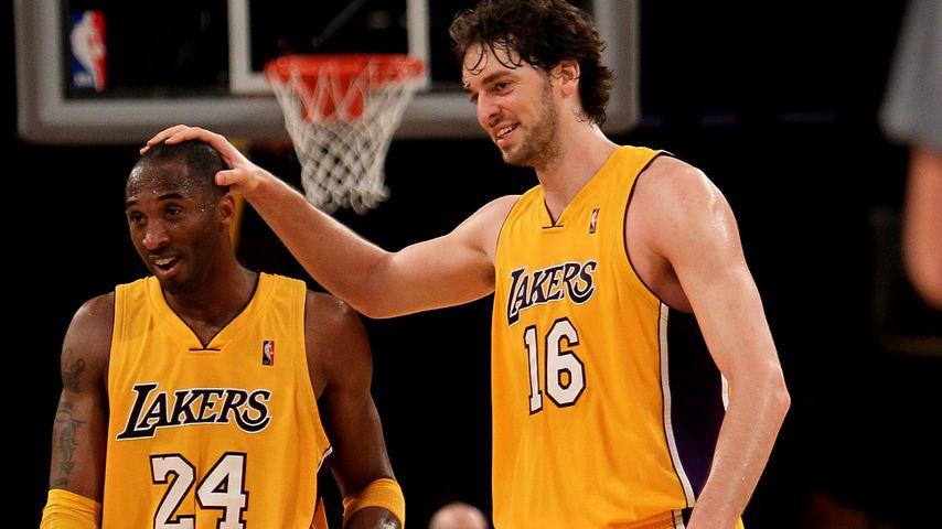 Kobe Bryant und Pau Gasol