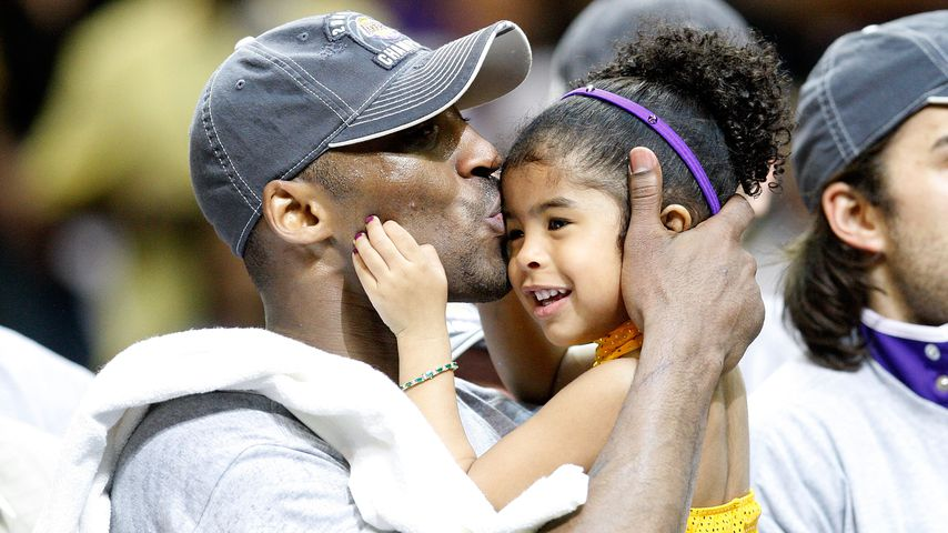 Kobe Bryant und seine Tochter Gianna