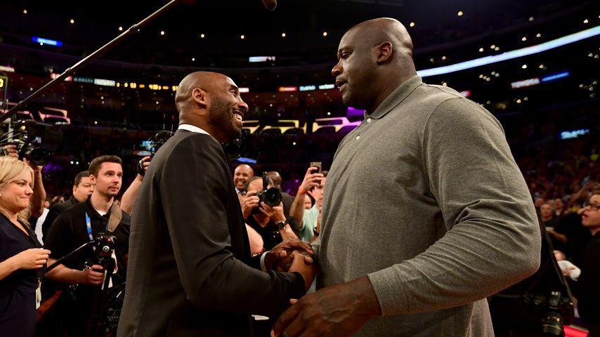 Kobe Bryant und Shaquille O'Neal, 2017