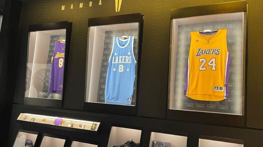 Kobe Bryants Ausstellung in der Hall of Fame