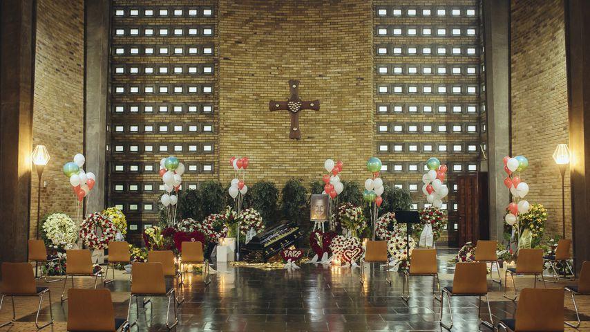 Kölner Kapelle am Tag von Willi Herrens Beerdigung