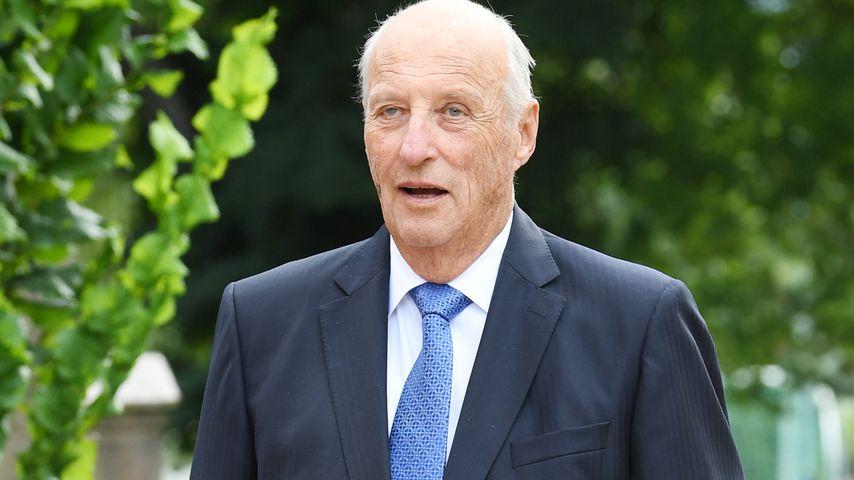 König Harald in Oslo, 2020