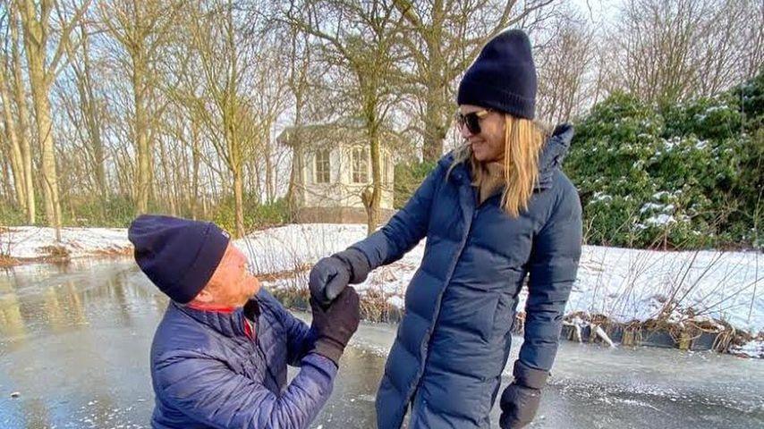 Antrag 2.0? Willem-Alexander und Máxima feiern Valentinstag