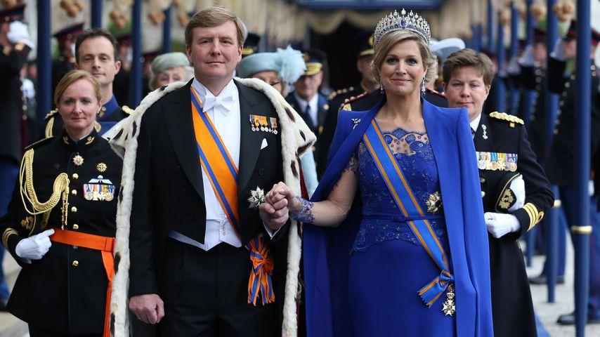 König Willem-Alexander und Königin Máxima in Amsterdam