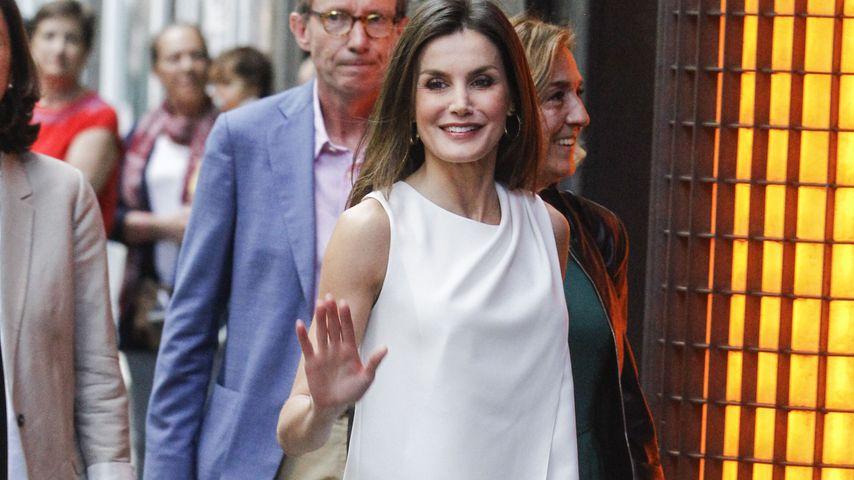 Königin Letizia von Spanien: Zeigt sie hier zu viel Haut?