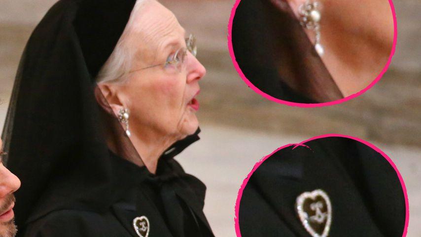 Collage: Königin Margrethe