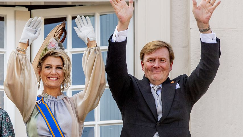 Königin Maxima und König Willem-Alexander der Niederlande am Prinzentag 2018