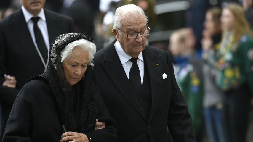 Königin Paola und Albert II., 2019 in Luxemburg