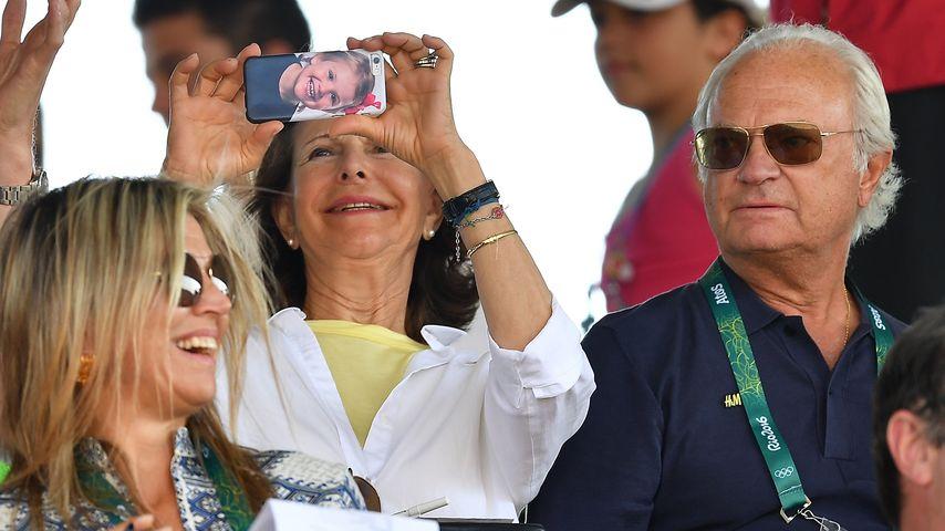 Königin Silvia in Rio