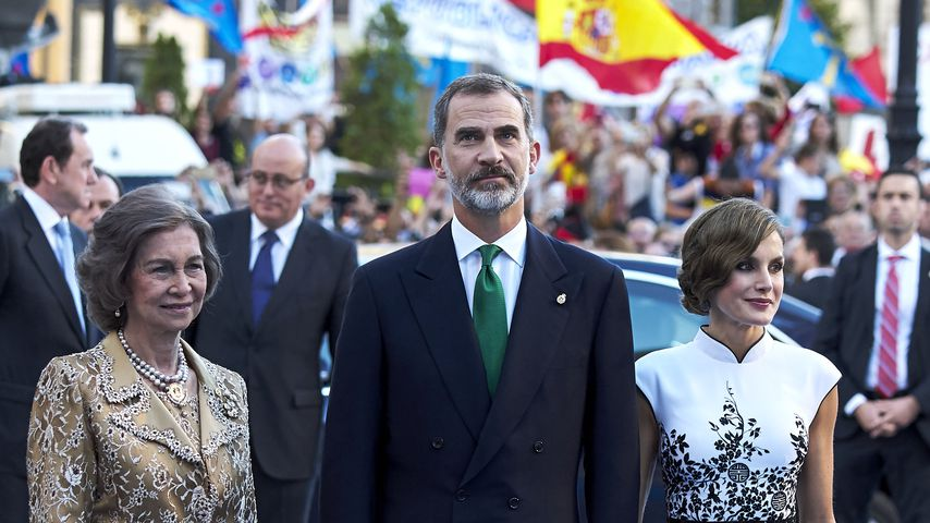 Königin Sofia, König Filipe und Königin Letizia