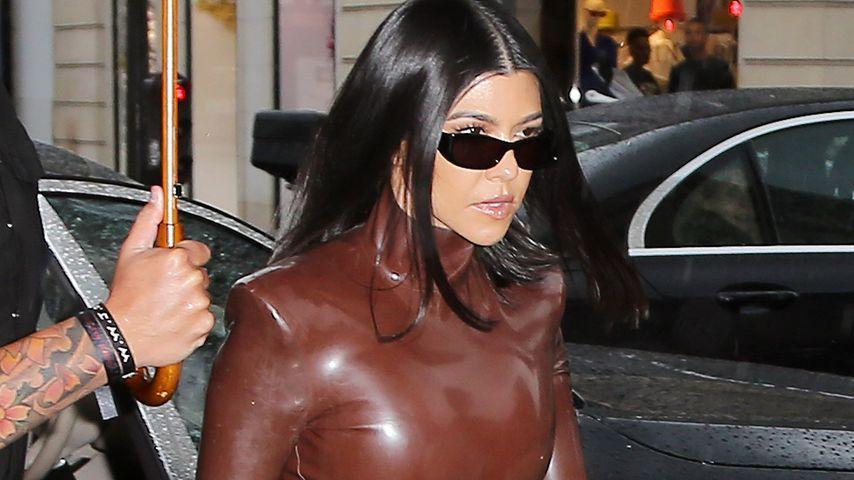 Kourtney Kardashian in Paris, März 2020