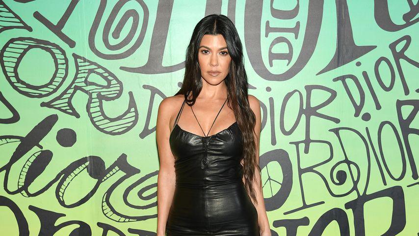 Kourtney Kardashian bei einer Dior-Modenschau in Miami