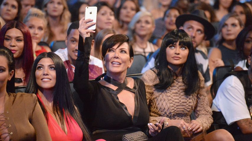Kylie Jenner, Kourtney Kardashian und Kris Jenner